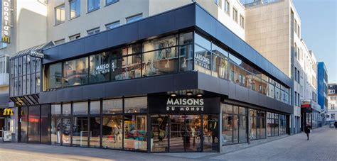 creation dun magasin maisons du monde  dortmund allemagne sam   architecture