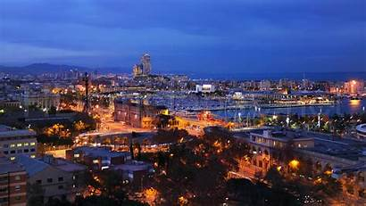 Barcelona Night Wallpapers Spain Facial Courses Aesthetic