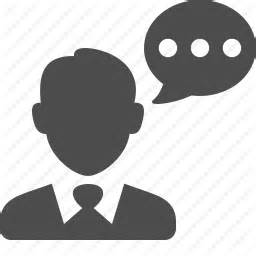 14440 talking icon png business businessman chat speech talking