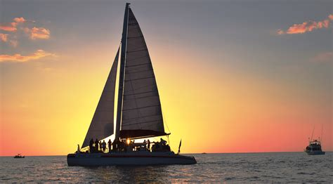Sail Boat Tours by Our Cruises Sweet Liberty Catamaran Sailing Boat Tours
