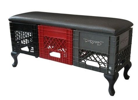 crate furniture bench 29 best images about milk crates on