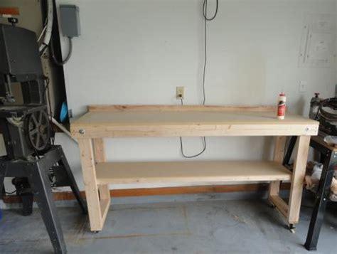 Woodwork Wooden Work Bench Home Depot Pdf Plans