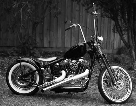 Bobbers, Choppers And Harley Davidson
