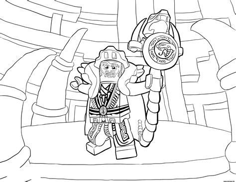 coloriage lego ninjago master chen dessin