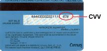We did not find results for: Finding your credit card CVV Number