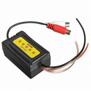 High To Low Level Car Speaker Rca Converter With Ground