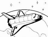 Shuttle Space Spaceship Drawing Coloring Pages Nasa Draw Earth Spacecraft Travel Orbiting Surface Clipart Printable Cliparts Tocolor Challenger Getdrawings Flying sketch template