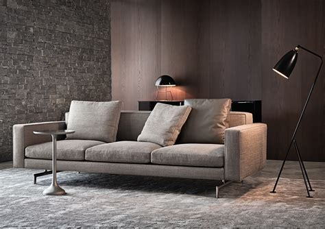 Seats And Sofas by Sherman Sofa By Rodolfo Dordoni Minotti Quickship