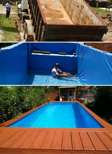 how can you build a pool to your house 7 diy swimming pool ideas and designs from big builds to weekend projects home tree atlas