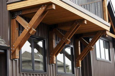 balcony brackets bracket traditional edmonton habitat studio house awnings house designs