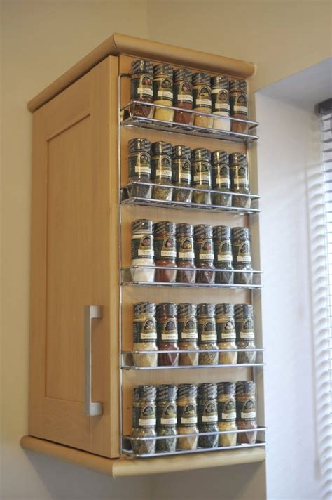wall mounted kitchen storage rack splendid wire shelves for cabinets with 5 shelf spice rack 8880