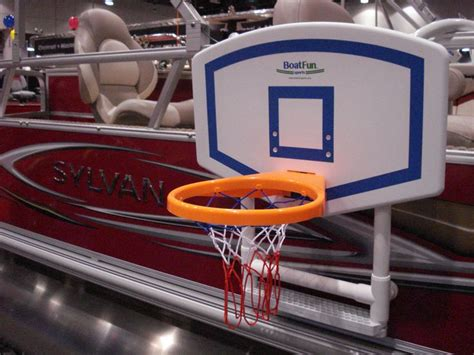 Pontoon Basketball Hoop by 35 Best Images About Boatfun Basketball On