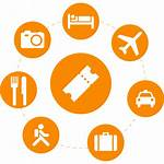 Services Tour Icons Hotel Tickets Charter Packages