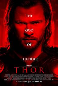 THOR Posters Featuring Chris Hemsworth | Collider