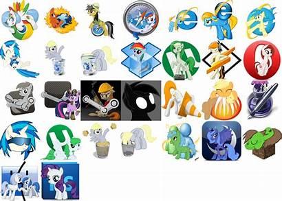 Pony Icon Pack Deviantart Mlp Ponies Iconpack