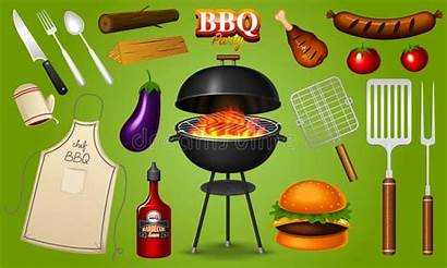 Bbq Party Clipart Barbecue Grill Illustrations Illustration