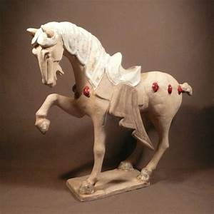 Cheval Debout Tang Achat Reproduction Asie Chine