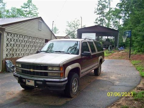 Sell Used 1993 2500 Chevrolet Suburban 4x4 In Easley