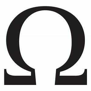 Omega Lowercase Greek Letter Wall Quotes™ Wall Art Decal ...