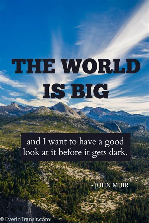 Bid On Travel The Poetry Of Muir Quotes On Nature Conservation