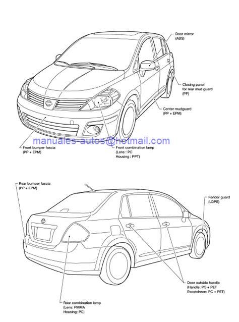 Manual De Reparación Nissan Tiida 2006 2007 2008 2009