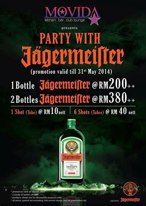 party  jagermeirter  movida kitchenbarclub lounge