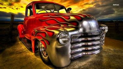 Rod Rods Desktop Wallpapers Backgrounds Paint Flaming