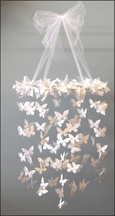 handmade butterfly chandelier http in the corner