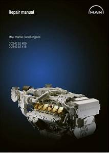 Man Marine Diesel Engine D 2842 Le 409 Service Repair Manual