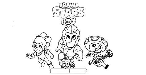 disegni da colorare dei personaggi di brawl personaggi di brawl da colorare
