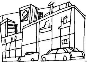 Stonehearth Gebäude Vorlagen by Autos Vor Grossem Gebaeude Ausmalbild Malvorlage Auto
