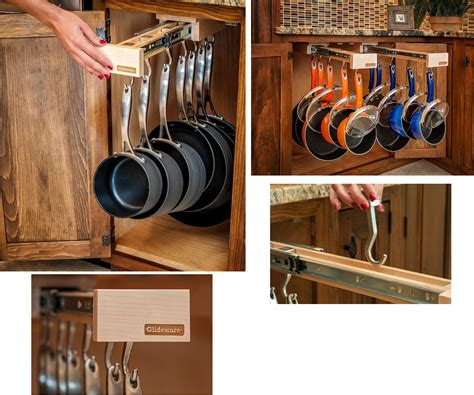 pots and pans rack cabinet pot and pan hanger for kitchen theydesign net