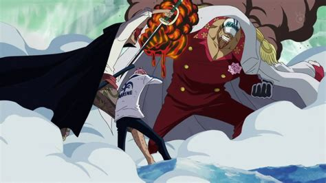 Shanks Vs Akainu || Shanks Detiene La Guerra De Marineford