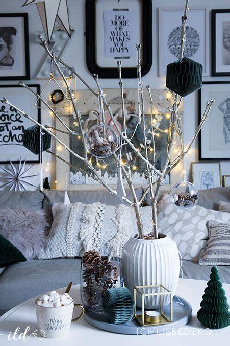 skandinavische weihnachtsdeko im wohnzimmer jetzt wirds