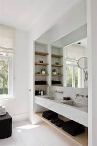 grand miroir contemporain un must pour la salle de bain With grand miroir contemporain