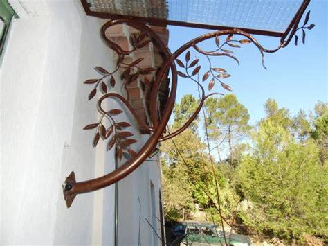 marquise en fer forg 233 style olivier a hy 232 res ferronnier var 83 ferronnerie d la reinette