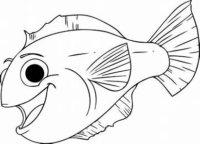 Fish Coloring Pages Printable Craft Mesmerizing Crafts