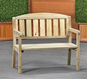 Small garden bench dennenbos for Small garden bench