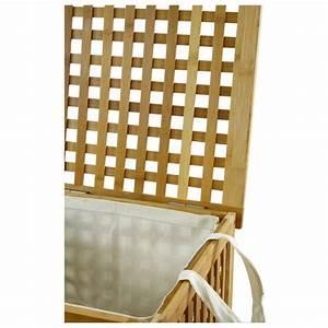 Panier à Linge Bambou : coffre linge bambou maison fut e ~ Dailycaller-alerts.com Idées de Décoration