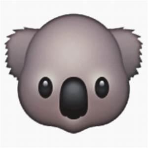 """Koala emoji"" Stickers by honourablevomit Redbubble"