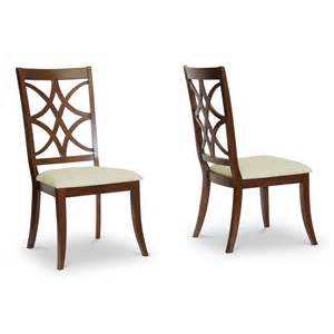 baxton studio rt255 chr 2 glenview dining chair set of 2
