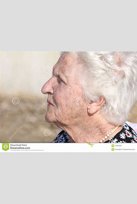 Old Woman Profile Portrait Stock Photography - Image: 11831002