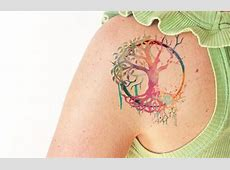 Tatouage Femme Yggdrasil Tattooart Hd