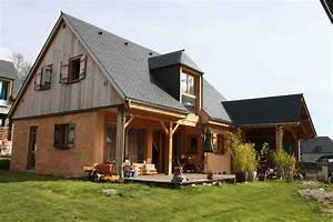 maison en paille With maison paille ossature bois