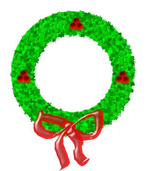 christmas wreath clip art at clker com vector clip art
