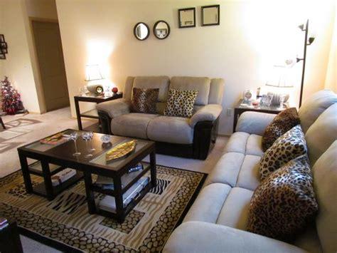 Zebra Print Living Room Decor