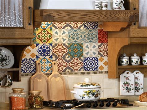 kitchen backsplash stickers tile decals set of 18 tile stickers for kitchen backsplash