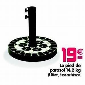 Pied De Parasol Gifi : gifi promotion le pied de parasol produit maison gifi ~ Dailycaller-alerts.com Idées de Décoration