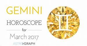 Gemini Horoscope for March 2017