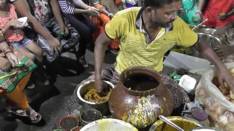 Crazy People Eating Phuchka In Kankinara West Bengal